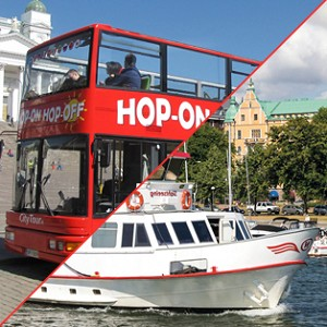 Hop-on Hop-off bussi & sightseeing-risteily 24 h