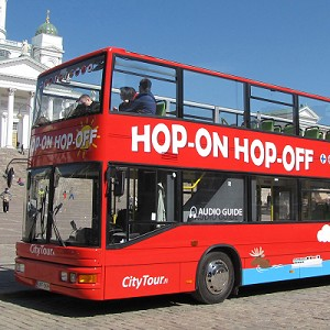 Hop-on Hop-off bussi 24 h